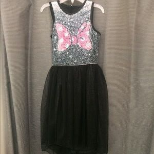 Girls Minny Bow Dress (4-5)